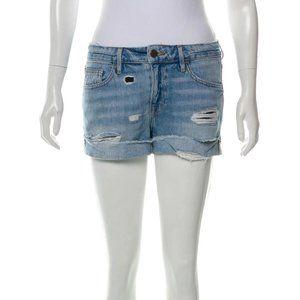 Frame Denim Distressed Jean Shorts
